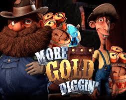 More Gold Diggin Slot - Logo