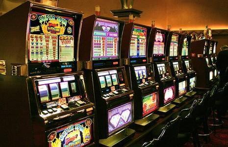 many slot machines