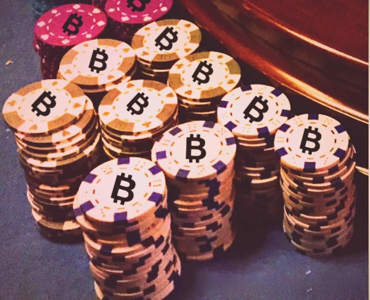 Bitcoin-Gambling-chip