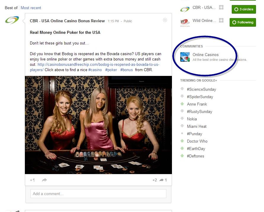 Online Casinos Screenshot