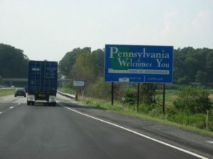 Pennsylvania-Welcome-Sign