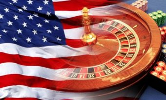 usa-casino-flag and roulette