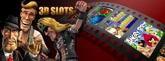 3D Slots Bonus