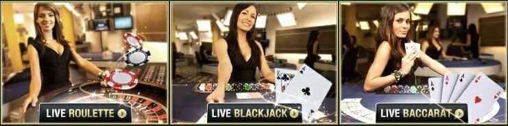 Pamper Casino Live Dealer Examples