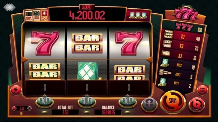 777 Slot Gameplay
