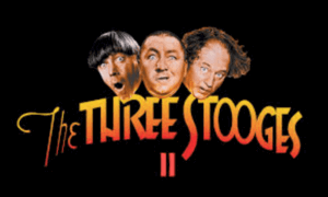 The Three Stooges II Online Slot Logo