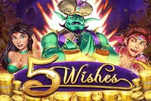 5 Wishes Slot Logo