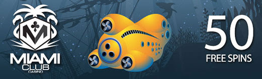 50 Free Spins on 20,000 Leagues Slot
