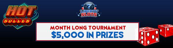 Liberty Slots Month Long Tournament