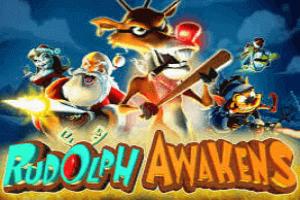 Rudolph Awakens Slot Game Logo