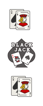 blackjack icon cards