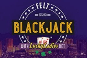 lucky ladies blackjack logo