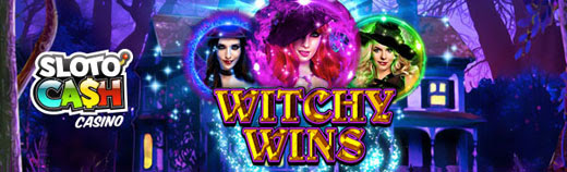 25 Free Spins on Witchy Wins at Slotocash