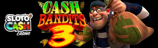 Free Spins on Cash Bandits 3