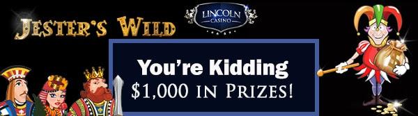 Lincoln Casino's 'You're Kidding' Tournament