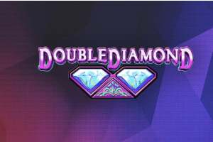 Double Diamond Slot Game Logo