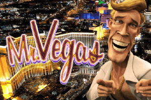 Mr Vegas Slot Game Logo
