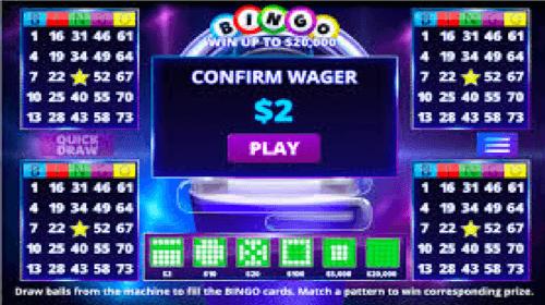 Roll-On Bingo