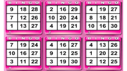 Shotgun Bingo