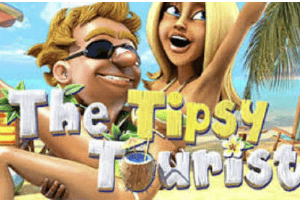 The Tipsy Tourist Slot Game Logo