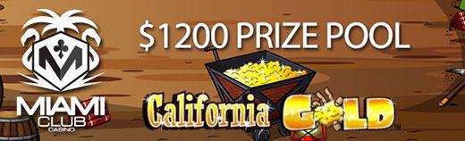 $1200 California Tournament at Miami Club Casino