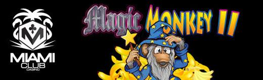 25 Free Spins on Magic Monkey II