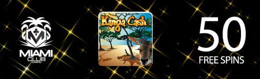 50 Free Spins on Kanga Cash