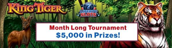Liberty Slots 'Month Long' Tournament