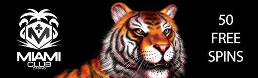Miami CLub Free Spins on King Tiger