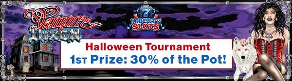 Liberty Slots 'Halloween Marathon' Tournament