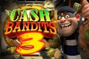 Cash Bandits 3 Slot Logo