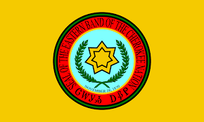 Eastern Band Of Cherokee Indians badge