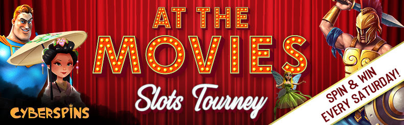 Spellbinding 'At the Movies' Slots Tourney at CyberSpins Casino