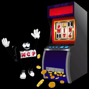MCP character winning at slots