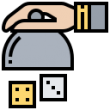 Dice Dinner Icon