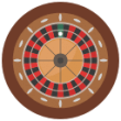 Roulette Wheel Brown Icon